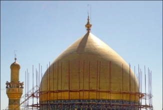 Beautification Work of Roza e Hazral Ali Najaf d