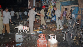 Bomb Blasts in Hyderabad , India 22 Feb 2013 a