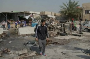 Car Bombs Hit Baghdad 17 Feb 2013 a