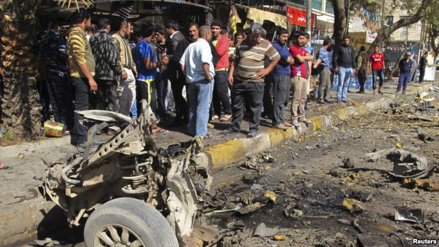 Car Bombs Hit Baghdad 17 Feb 2013