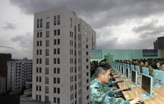Chinese Military Cyber war Unit 61398' in Shanghai