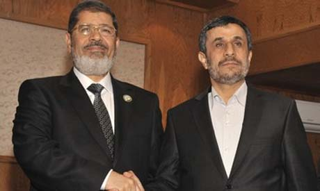 Egytian & Irani Presidents Morsi and Ahmedinijad