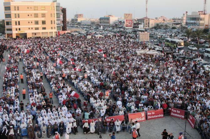 Fresh Anti Regime Protest in Bahrain 2013