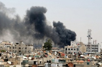 Israeli Airstrike on Syrian Research Center