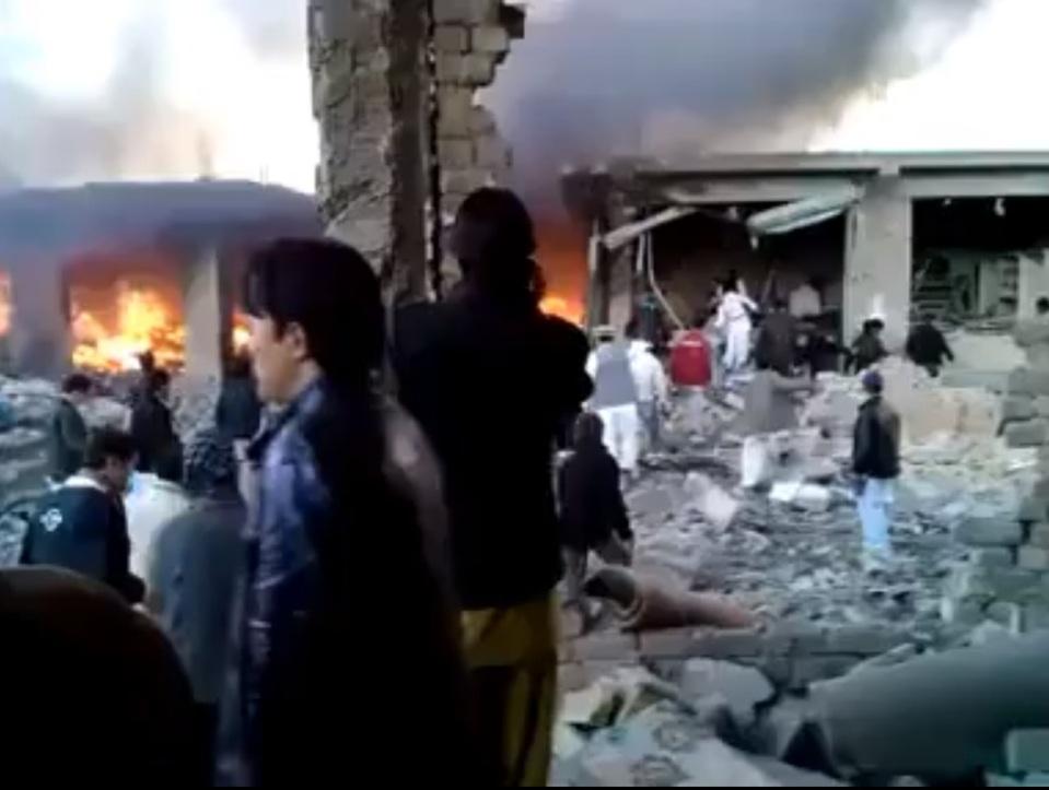 Kirani Road Quetta Blast