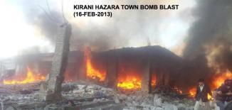 Kirani Road Blast , Quetta , 16 Feb 2013.n