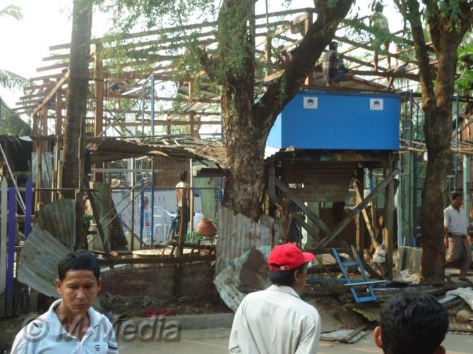 Muslim School attacked By Budhist in Yangoon 17 Feb 2013