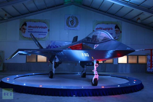 Qaher 313 , Irani Jet Fighter c
