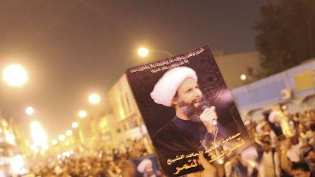 Saudi Protesters Demand Release of Shia Cleric Nemr Al Nemir
