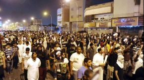 Arabian Protest in Qassimia against Al Saud