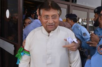 Ex Pakistani President Musharaf Returns Home