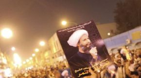 Protest for the Release of Saudi Shia Cleric Nemr Al Nemr