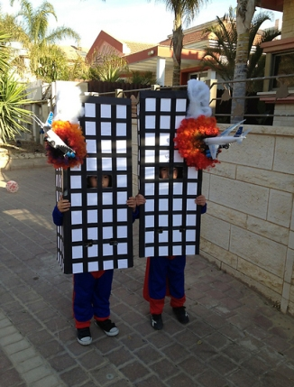 Purim Festival and 911 attacks