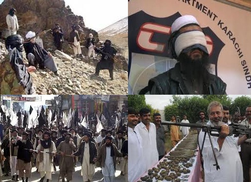 Taliban Terrorist in Karachi.