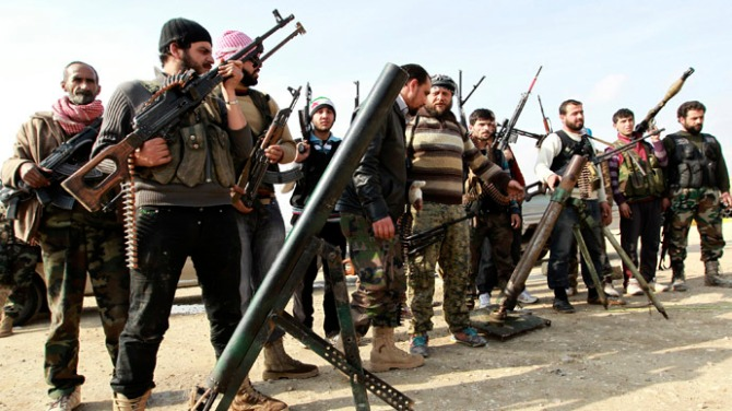 US , France , Qatar , Turkey training Syrian Terrorist