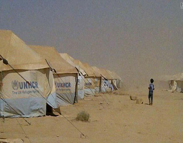 Al Za tri Camp in Jordan