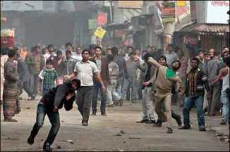 Bangladesh Paralyzed by a Strike
