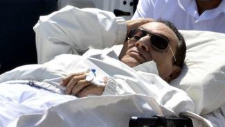 Egyptian Ex President Hosni Mubarrak