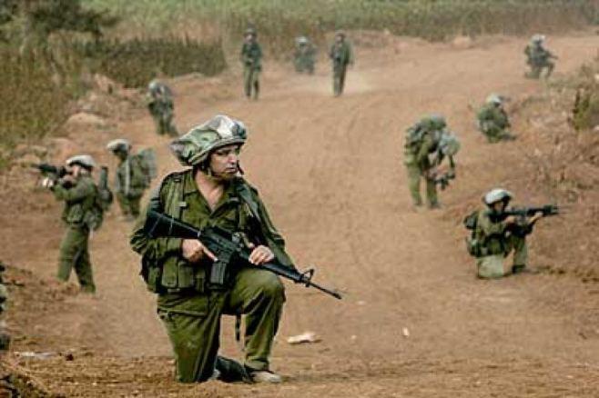Hezbollah Fighters fighting FNA Terrorist