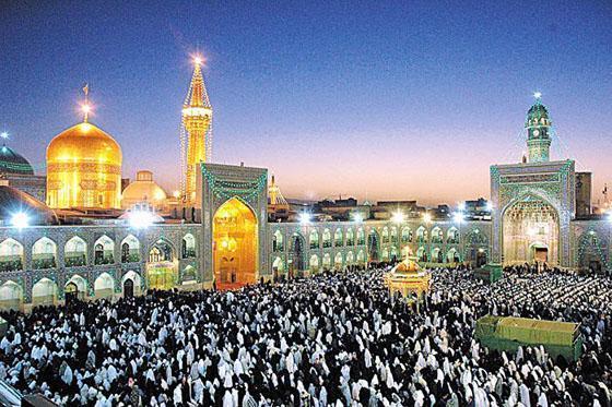 Imam Raza's Holy Shrine , Mashad , Iran