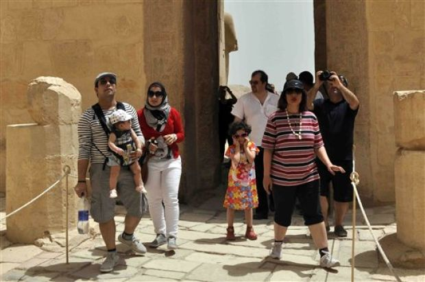 Irani Tourist in Egypt