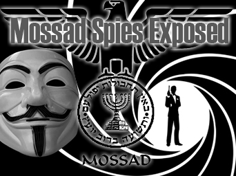 Mossad Spies Exposed By Hackers