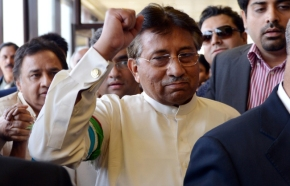 Pervez-Musharraf Back in Pakistan
