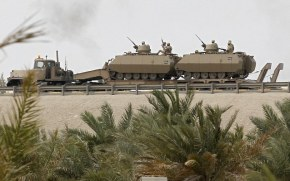 Saudi Arabia Sends More Tanks and weapons to Bahrain