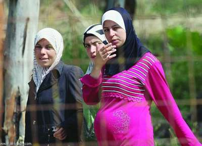 Syrian Women & Girls at Refugee camps