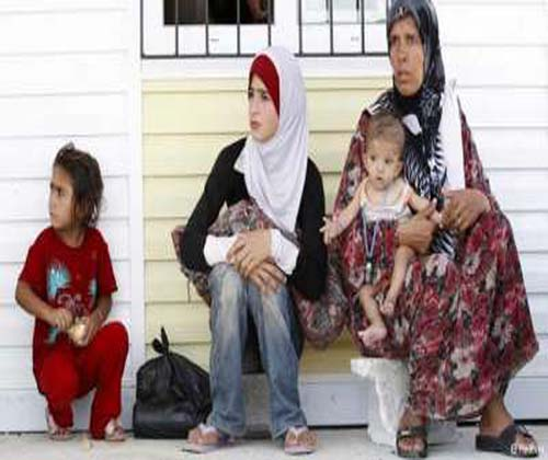 Syrian Women Rape Victim at Refugee Camps