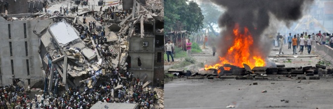 Bangladesh in Disaster after another Disaster