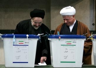 Ex Presidents of Iran Muhammad Khatami & Hashmi Rafsanjani