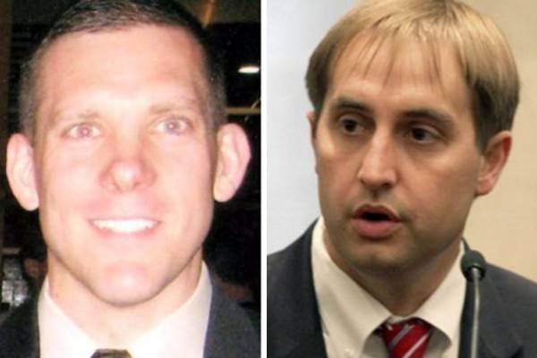 FBI Agents Christopher Lorek, 41, Stephen Shaw, 40