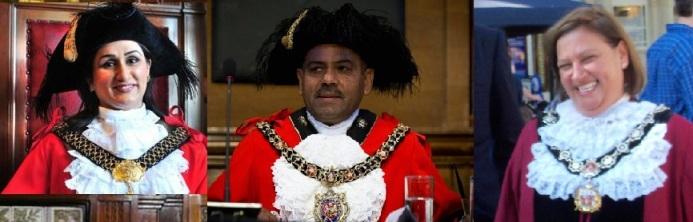 Pakistani Origin Muslim Mayors of England 2013 - 14