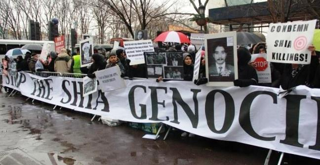 Protest against Shia Genocide in Pakistan