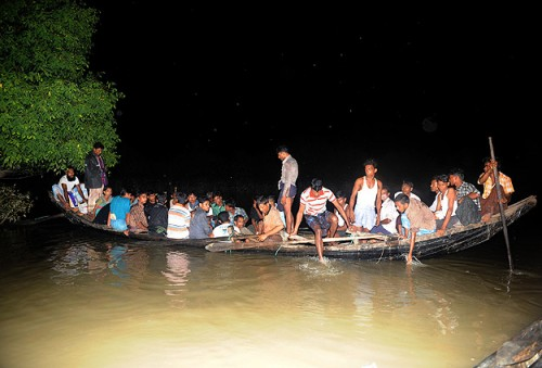 Rohingya Muslims Boat Capsizes