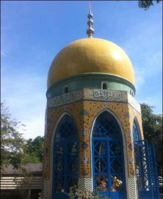 Sheikh Ahmad Qomi' in Ayutthaya, Thailand