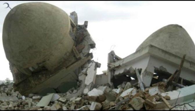 Shrine of Hijr Ibn Addi Desecrated in Damascus , Syria b