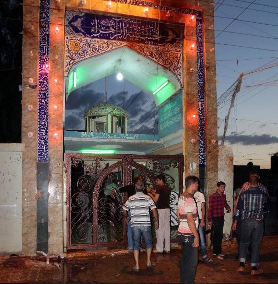 Suicide Blast in Imambargah Zehra , Kirkuk, Iraq a