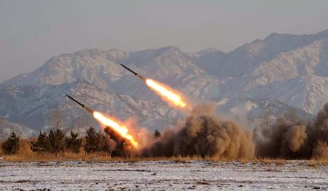 Syria fires Rockets into Golan Heights