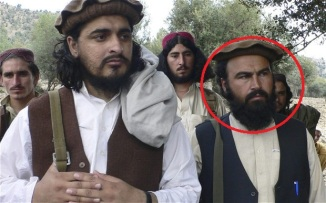 TTP's No.2 Wali ur Rehman Mehsud with Hakim ullah Mehsud