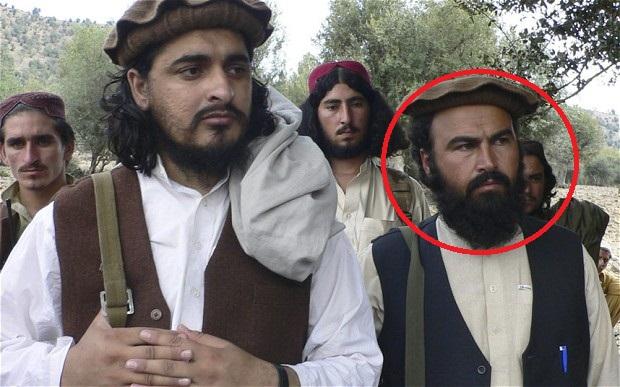 TTP's No.2 Wali ur Rehman Mehsud with Hakim ullah Mehsud