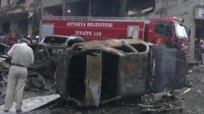 Turkish Town of Reyhanli Car Bomb Blasts c