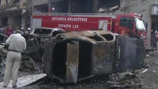 Turkish Town of Reyhanli Car Bomb Blasts c
