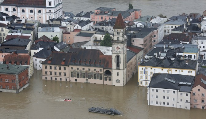 Flood in Central Europe a