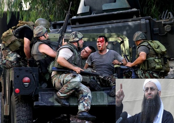 Lebanese army attacked by Assir