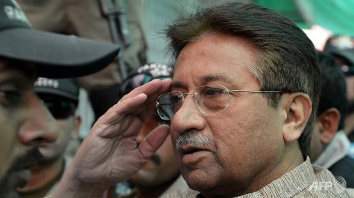 Pervaiz Musharaf in Court Case