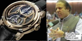 PM Nawaz Sharrif with Meteoris Watch
