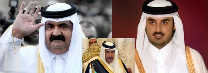 Qatar crown Prince tamim al thani so Sh. Khalifa bin Hammad al Thani