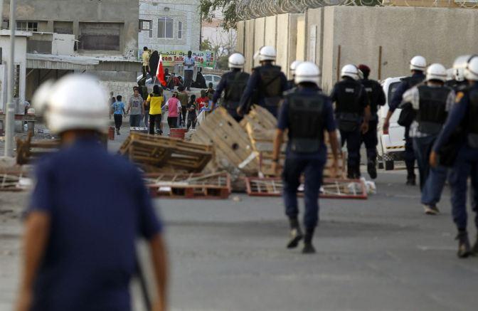 Bahrain Al Khalifa Forces Raid Protester Houses